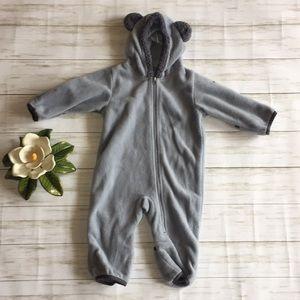 Columbia Fleece Snowsuit Baby Bear 6-12 Months